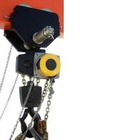 Таль ручная цепная передвижная грузоподъемностью 10 тонн ТРШБМ-10,0