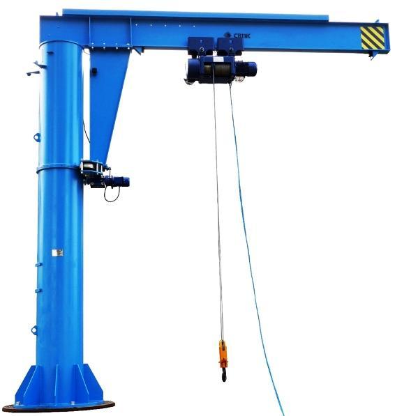 Краны электрические консольные стационарные ККМ грузоподъемностью от 0,5 до 5 тонн
